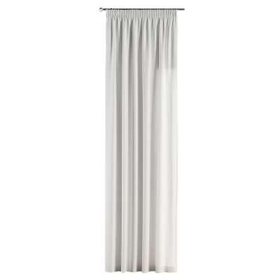 Záves na riasiacej páske V kolekcii Cotton Panama, tkanina: 702-34