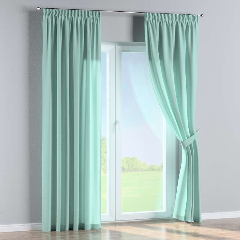 Pencil pleat curtains in collection Loneta , fabric: 133-32