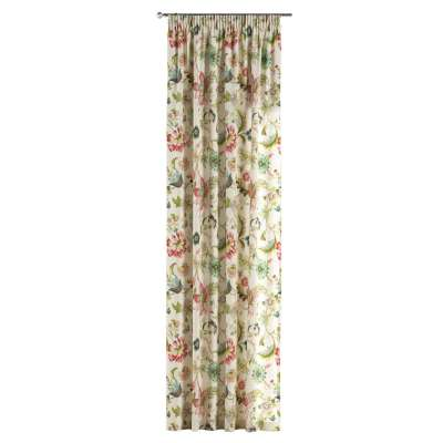Záves na riasiacej páske V kolekcii Londres, tkanina: 122-00
