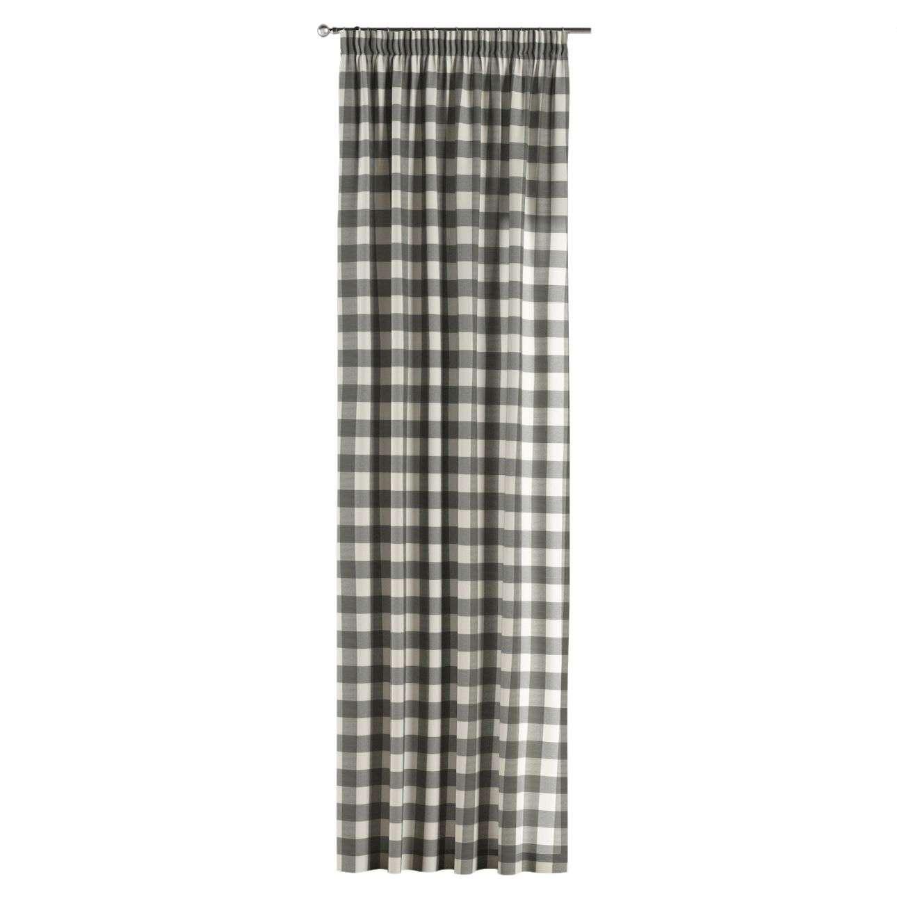 Záves na riasiacej páske V kolekcii Quadro, tkanina: 136-13