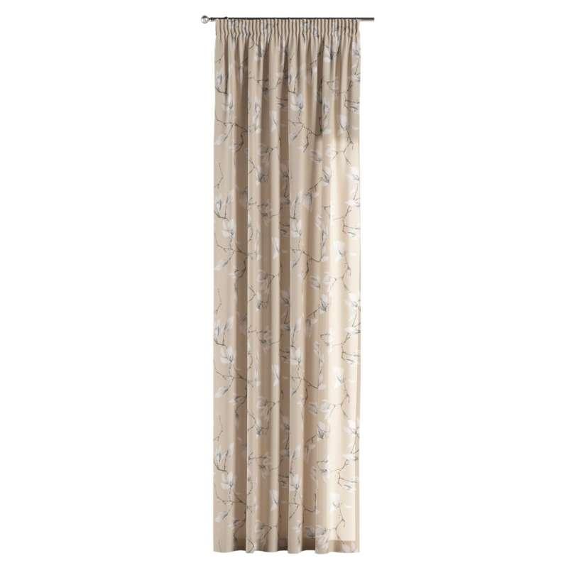 Vorhang mit Kräuselband von der Kollektion Flowers, Stoff: 311-12