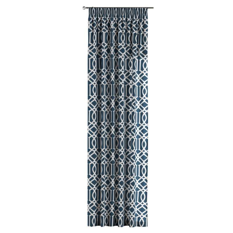 Pencil pleat curtains in collection Comics/Geometrical, fabric: 135-10