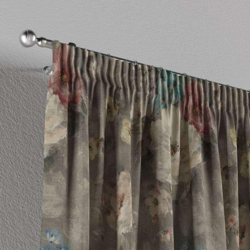 Függöny ráncolóval a kollekcióból Monet Lakástextil, Dekoranyag: 137-81