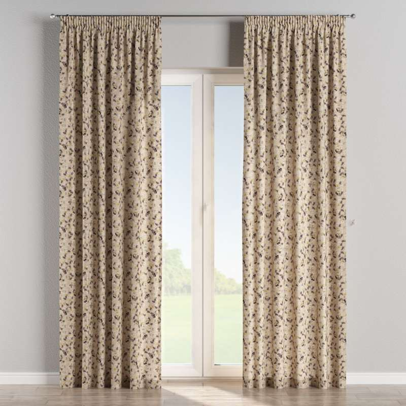 Pencil pleat curtains in collection SALE, fabric: 140-48