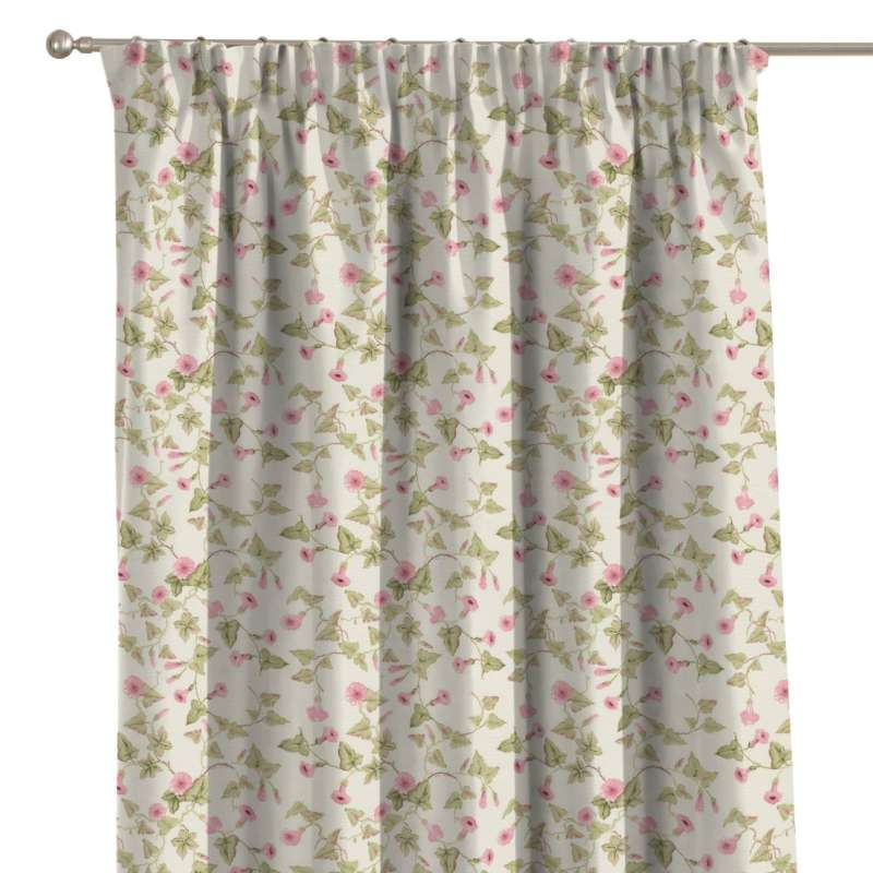 Pencil pleat curtains in collection Londres, fabric: 140-41