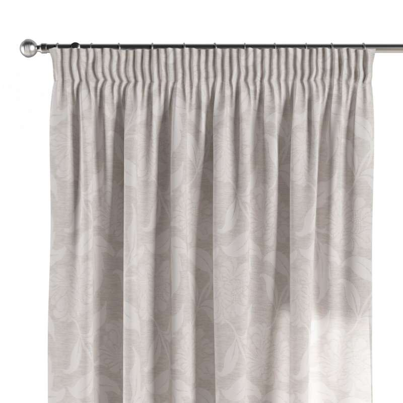 Pencil pleat curtains in collection Venice, fabric: 140-51