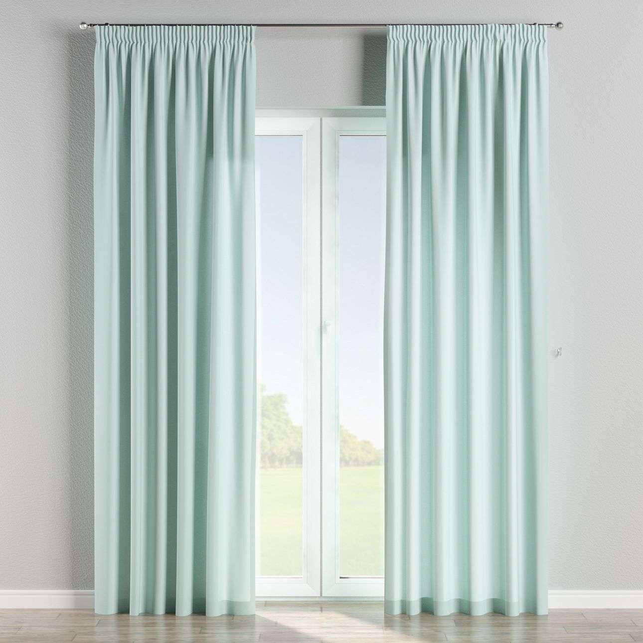 Vorhang mit Kräuselband von der Kollektion Cotton Panama, Stoff: 702-10