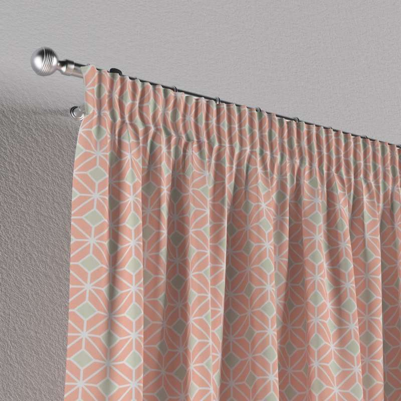 Pencil pleat curtains in collection SALE, fabric: 141-48