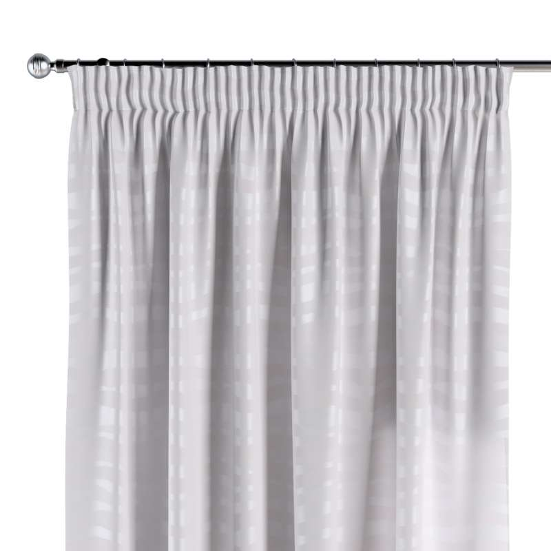 Pencil pleat curtains in collection Damasco, fabric: 141-87