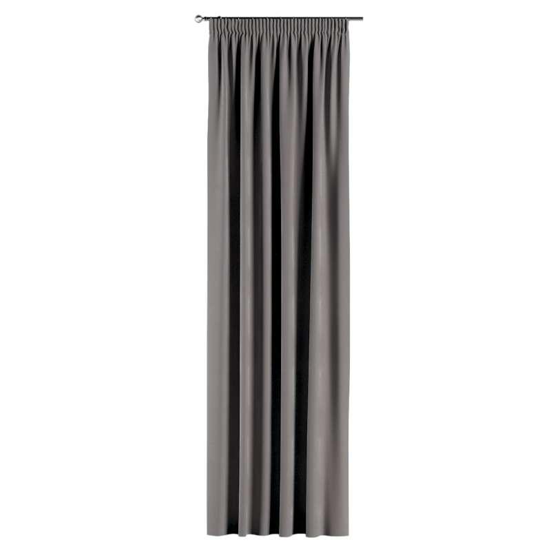 Záves na riasiacej páske V kolekcii Velvet, tkanina: 704-11