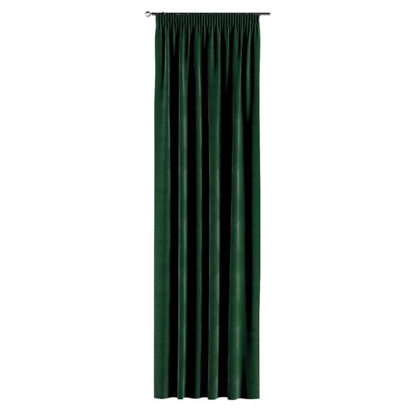 Gardin med rynkebånd 1 stk. fra kollektionen Velvet, Stof: 704-13