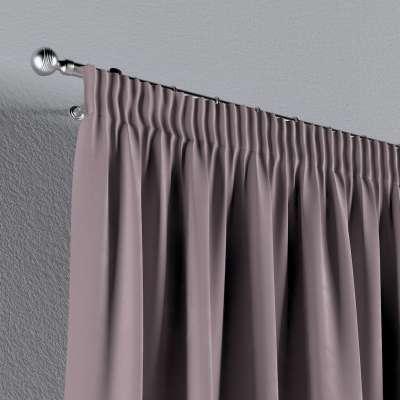 Gardin med rynkband 1 längd i kollektionen Velvet, Tyg: 704-14
