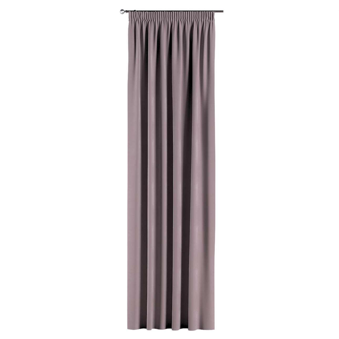 Vorhang mit Kräuselband von der Kollektion Velvet, Stoff: 704-14