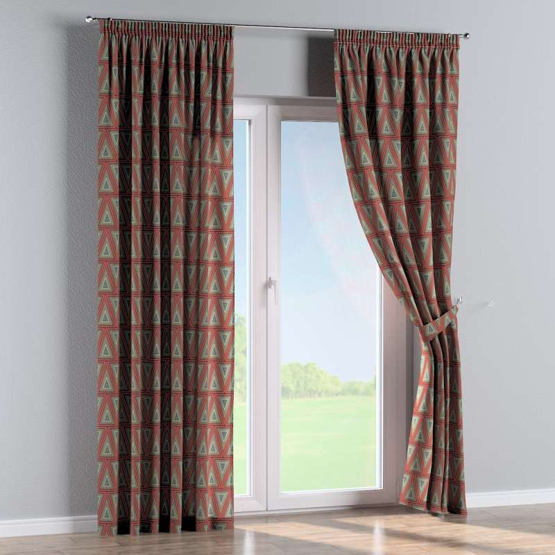 Pencil pleat curtains in collection SALE, fabric: 141-81