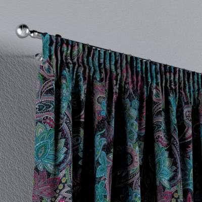 Vorhang mit Kräuselband von der Kollektion Velvet, Stoff: 704-22
