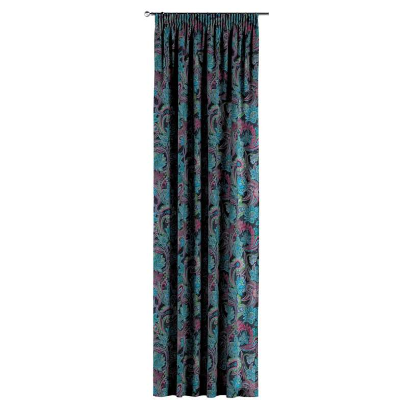 Pencil pleat curtains in collection Velvet, fabric: 704-22