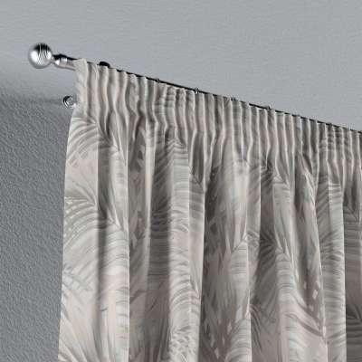 Záves na riasiacej páske V kolekcii Gardenia, tkanina: 142-14