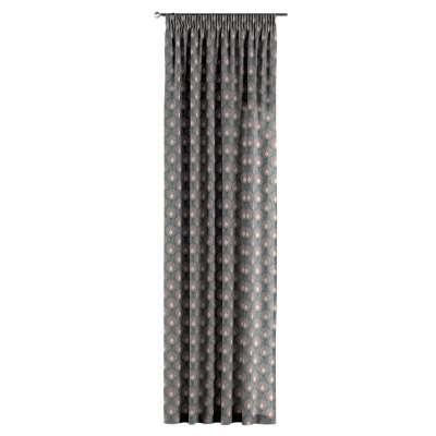 Gardin med rynkband 1 längd i kollektionen Gardenia, Tyg: 142-17