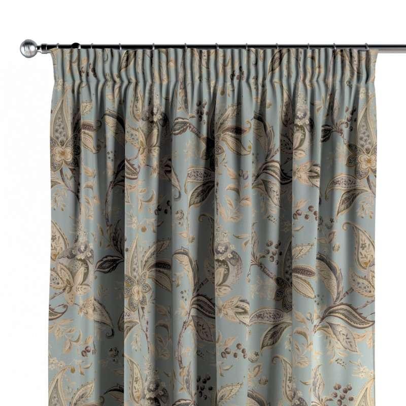 Zasłona na taśmie marszczącej 1 szt. w kolekcji Gardenia, tkanina: 142-18