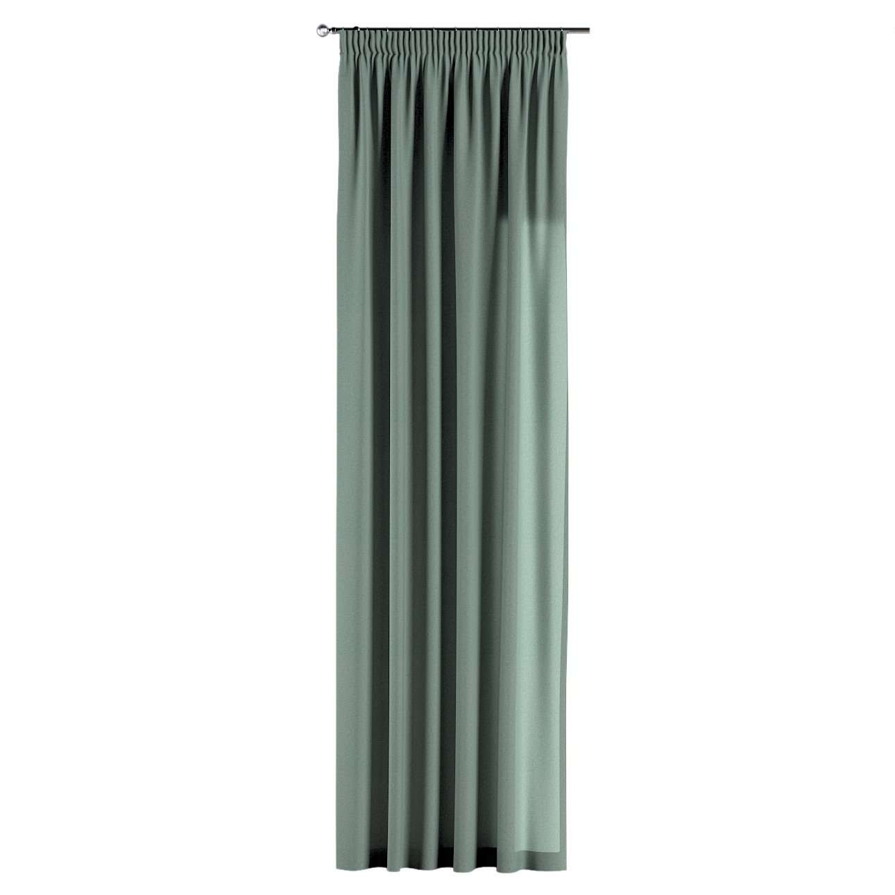 Pencil pleat curtain in collection Edinburgh, fabric: 142-31