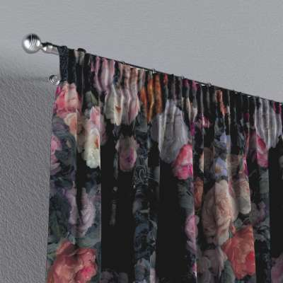 Vorhang mit Kräuselband von der Kollektion Gardenia, Stoff: 161-02