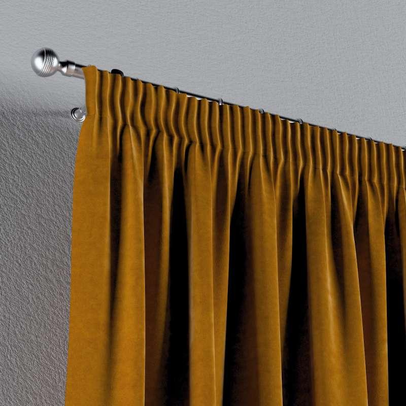 Gardin med rynkebånd 1 stk. fra kollektionen Velvet, Stof: 704-23
