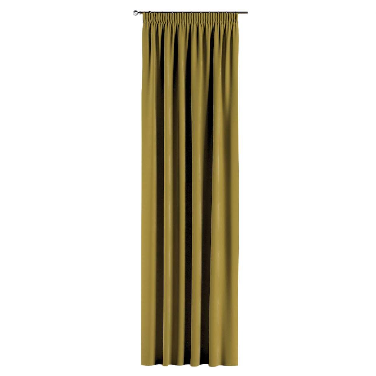 Záves na riasiacej páske V kolekcii Velvet, tkanina: 704-27