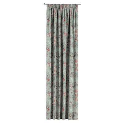 Vorhang mit Kräuselband von der Kollektion Tropical Island, Stoff: 142-62