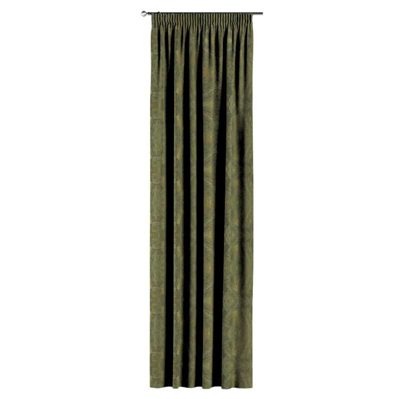 Pencil pleat curtains in collection Tropical Island, fabric: 142-63