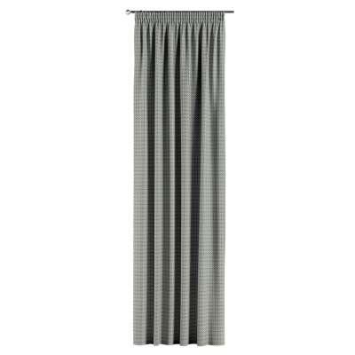 Gardin med rynkebånd 1 stk. fra kolleksjonen Black & White, Stoffets bredde: 142-76