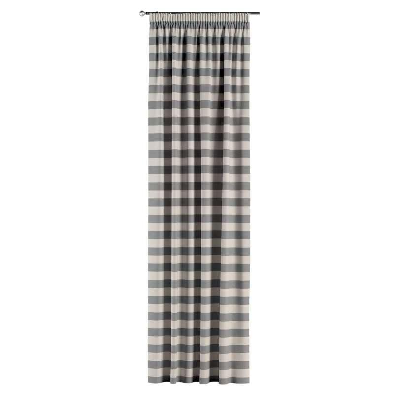 Vorhang mit Kräuselband von der Kollektion Quadro, Stoff: 142-71