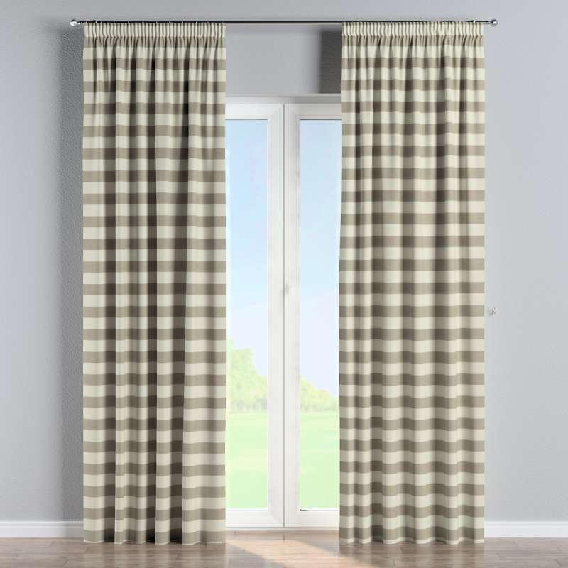 Függöny ráncolóval a kollekcióból Quadro Lakástextil, Dekoranyag: 142-73