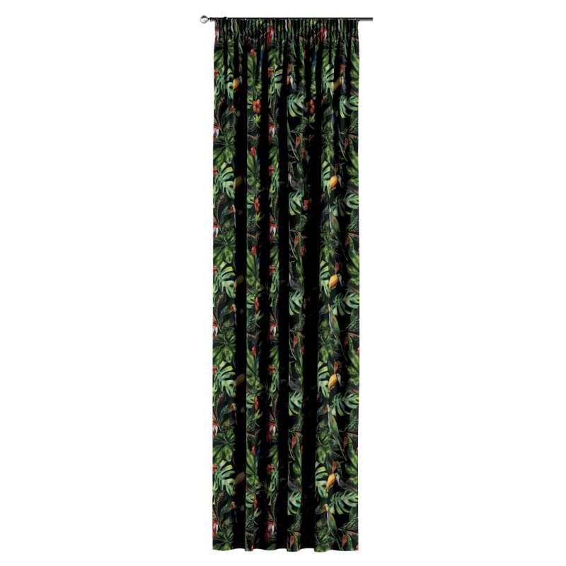 Vorhang mit Kräuselband von der Kollektion Velvet, Stoff: 704-28
