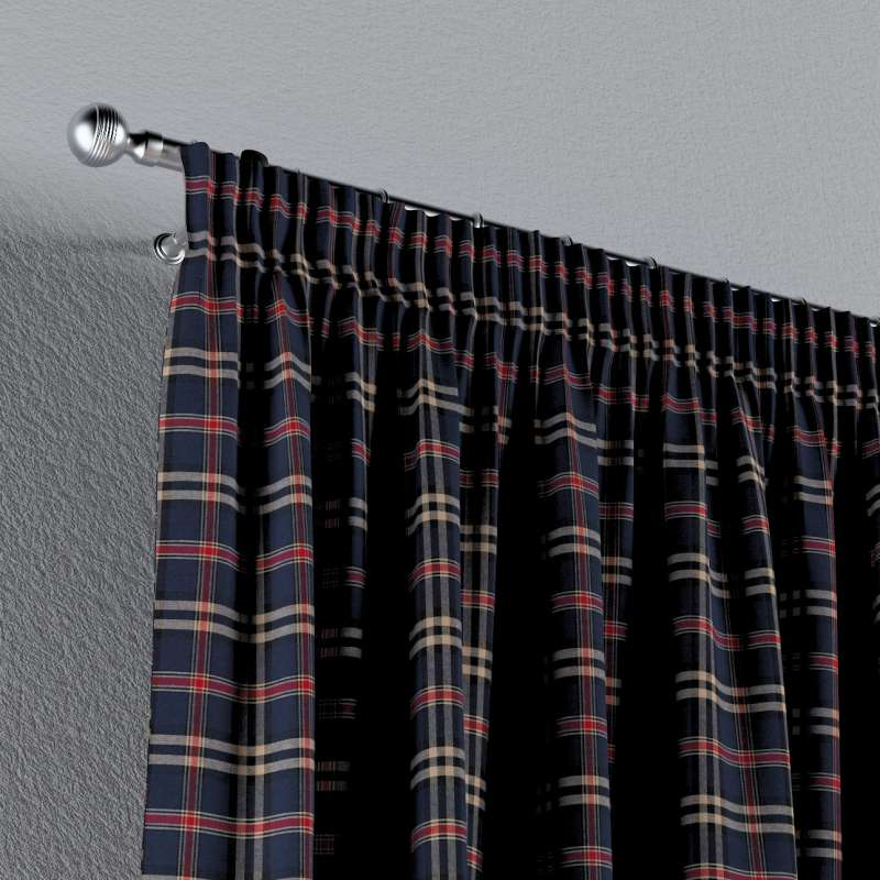 Pencil pleat curtains in collection Bristol, fabric: 142-68