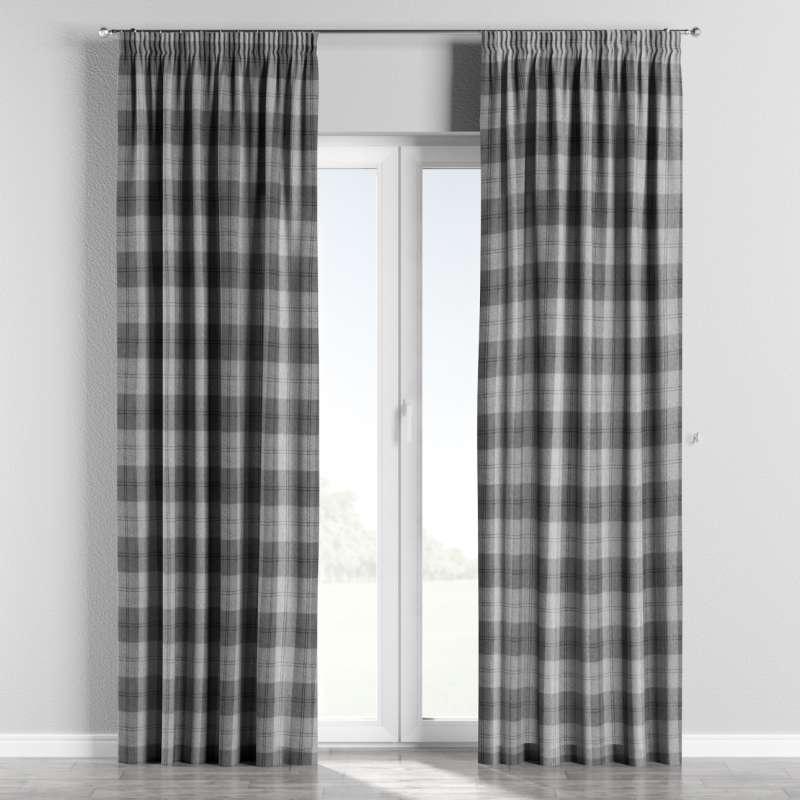 Pencil pleat curtains in collection Edinburgh, fabric: 115-75