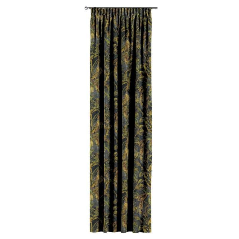 Zasłona na taśmie marszczącej 1 szt. w kolekcji Abigail, tkanina: 143-01