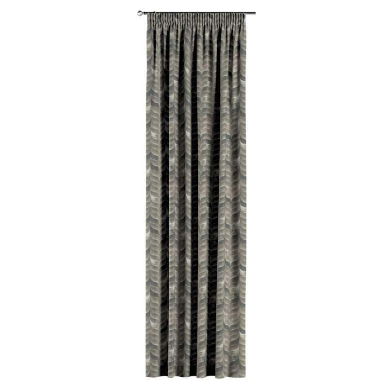 Záves na riasiacej páske V kolekcii Abigail, tkanina: 143-12