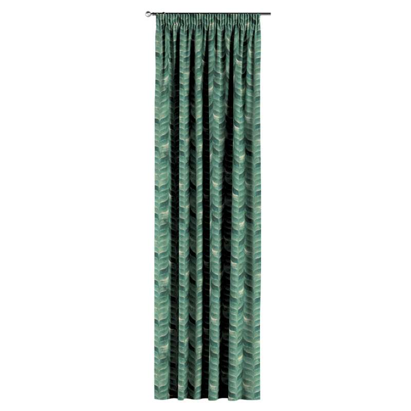 Záves na riasiacej páske V kolekcii Abigail, tkanina: 143-16