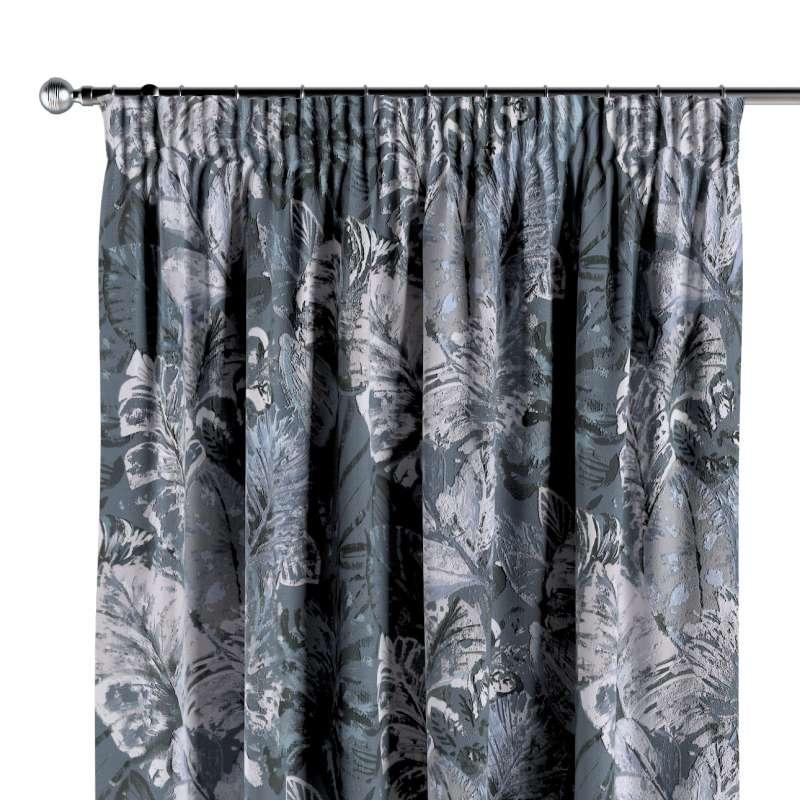 Vorhang mit Kräuselband von der Kollektion Abigail, Stoff: 143-18