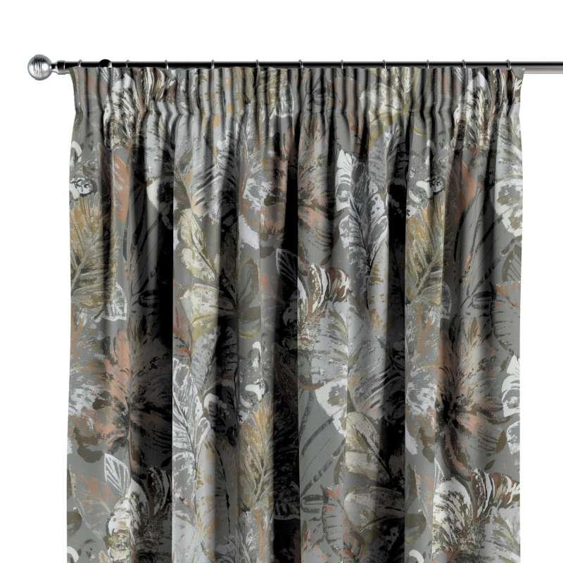 Függöny ráncolóval a kollekcióból Abigail, Dekoranyag: 143-19