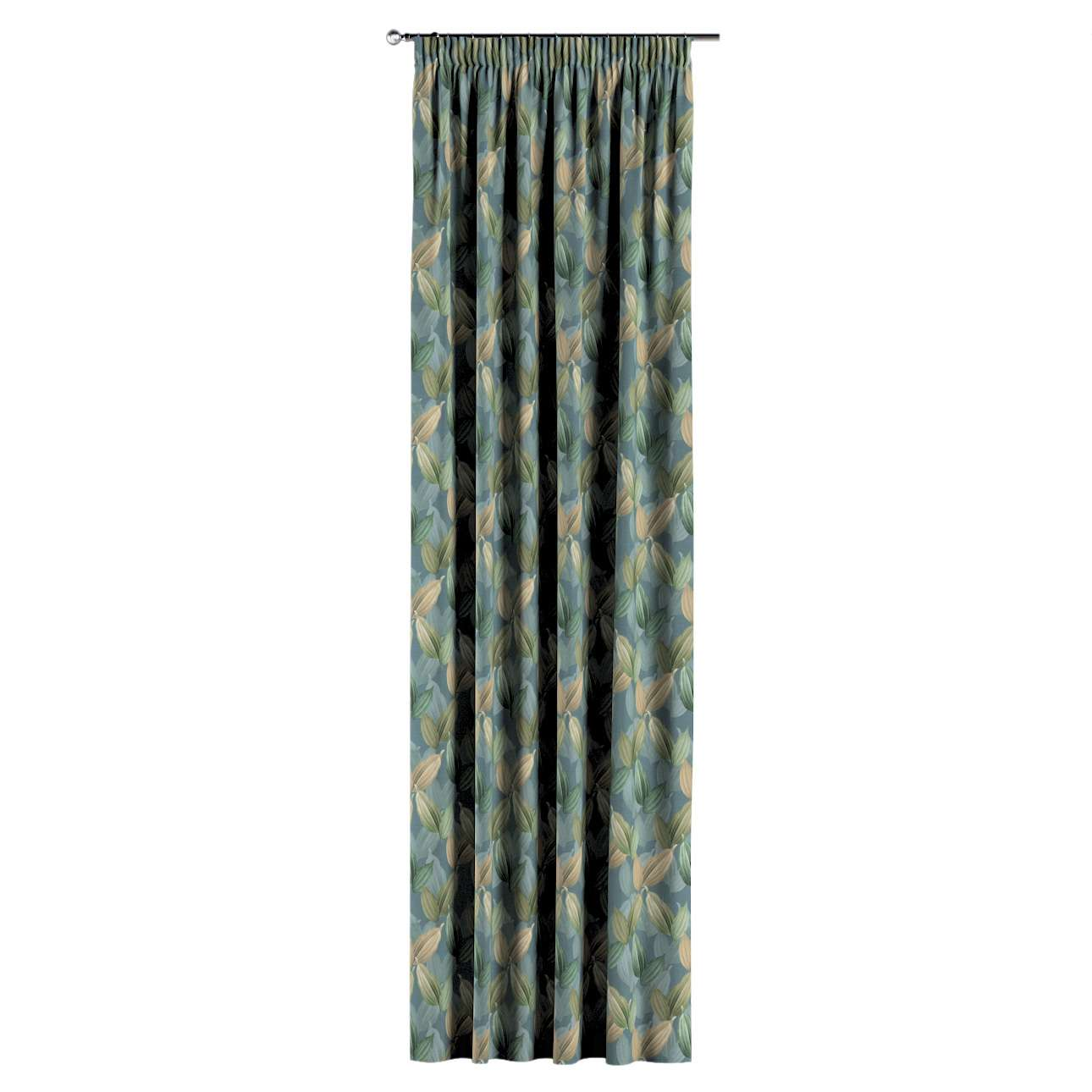 Pencil pleat curtains in collection Abigail, fabric: 143-20