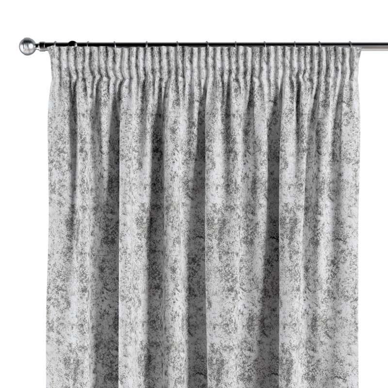 Zasłona na taśmie marszczącej 1 szt. w kolekcji Velvet, tkanina: 704-49