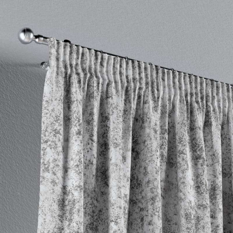 Pencil pleat curtains in collection Velvet, fabric: 704-49