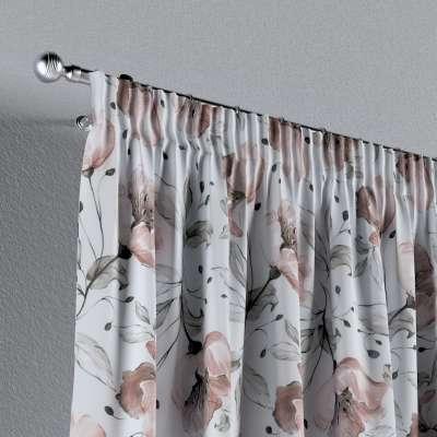 Vorhang mit Kräuselband von der Kollektion Velvet, Stoff: 704-50