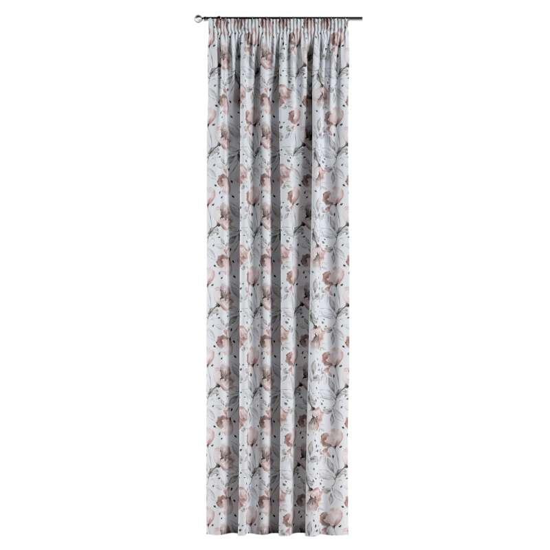 Gardin med rynkebånd 1 stk. fra kollektionen Velvet, Stof: 704-50