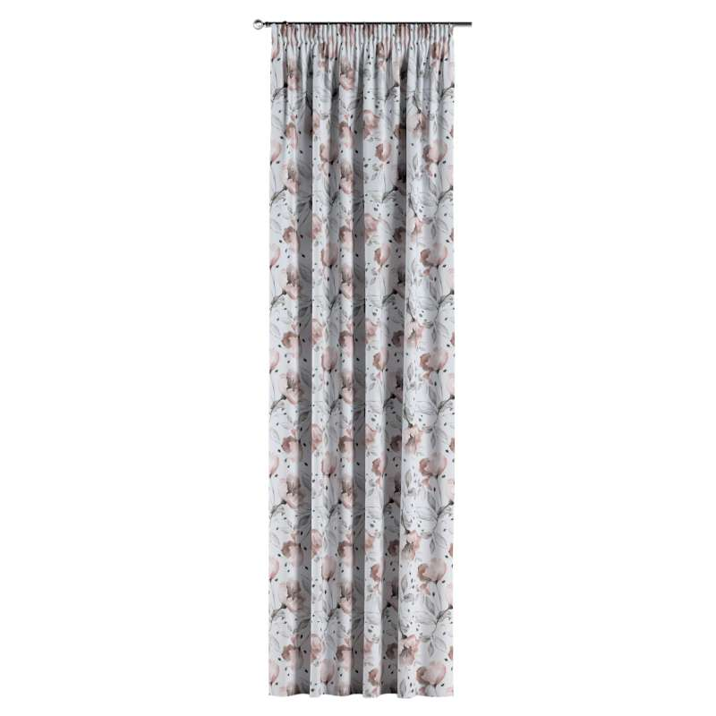 Pencil pleat curtains in collection Velvet, fabric: 704-50