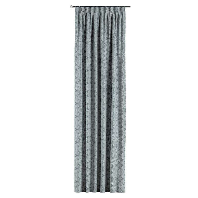 Pencil pleat curtains in collection Comics/Geometrical, fabric: 143-23