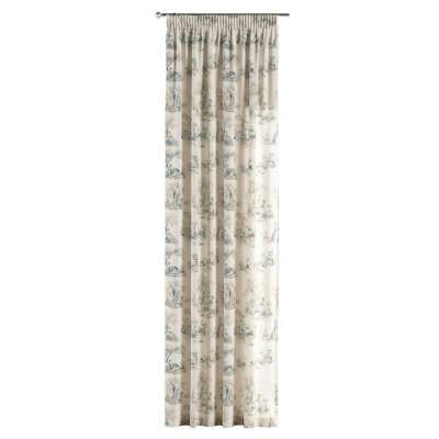 Pencil pleat curtains in collection Avinon, fabric: 132-66