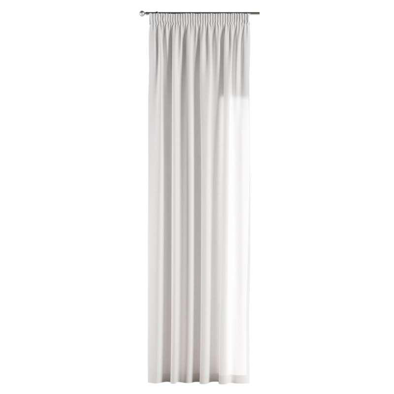 Vorhang mit Kräuselband von der Kollektion Jupiter, Stoff: 127-01