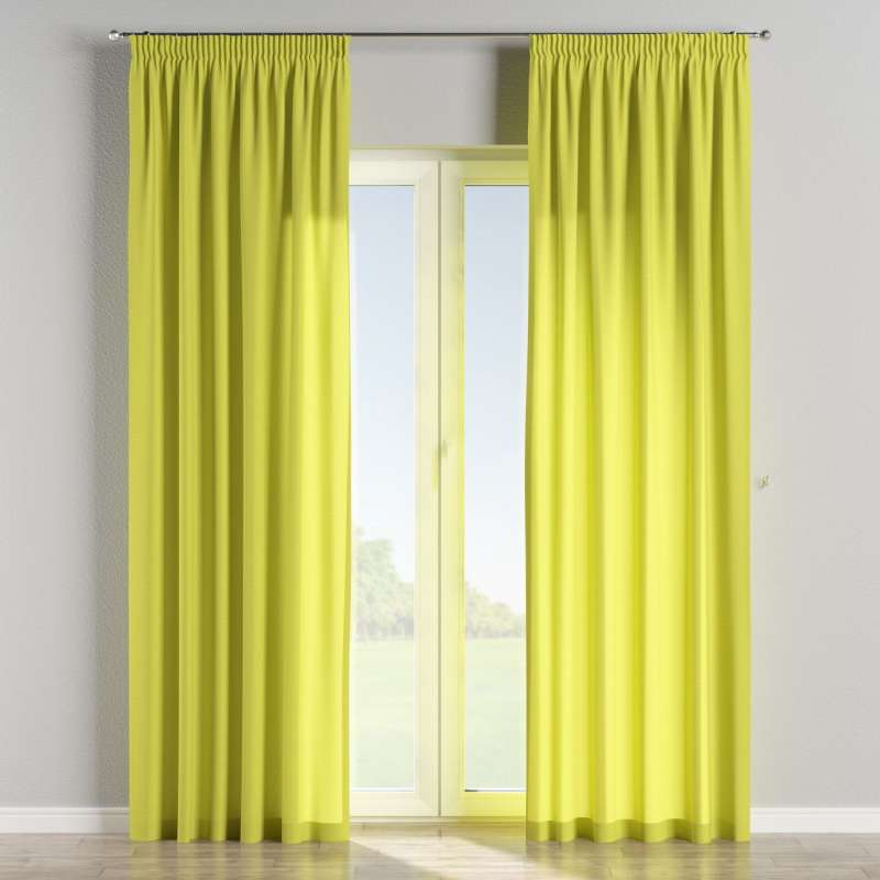 Pencil pleat curtains in collection Jupiter, fabric: 127-50